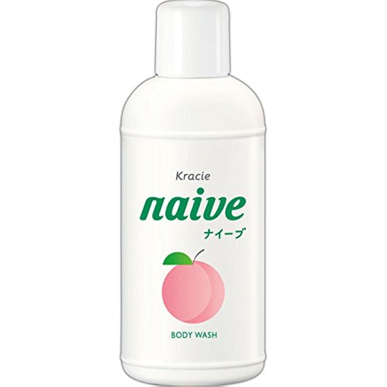 止まる全国使役ナイーブ ボディソープ 桃の葉エキス配合 80ml