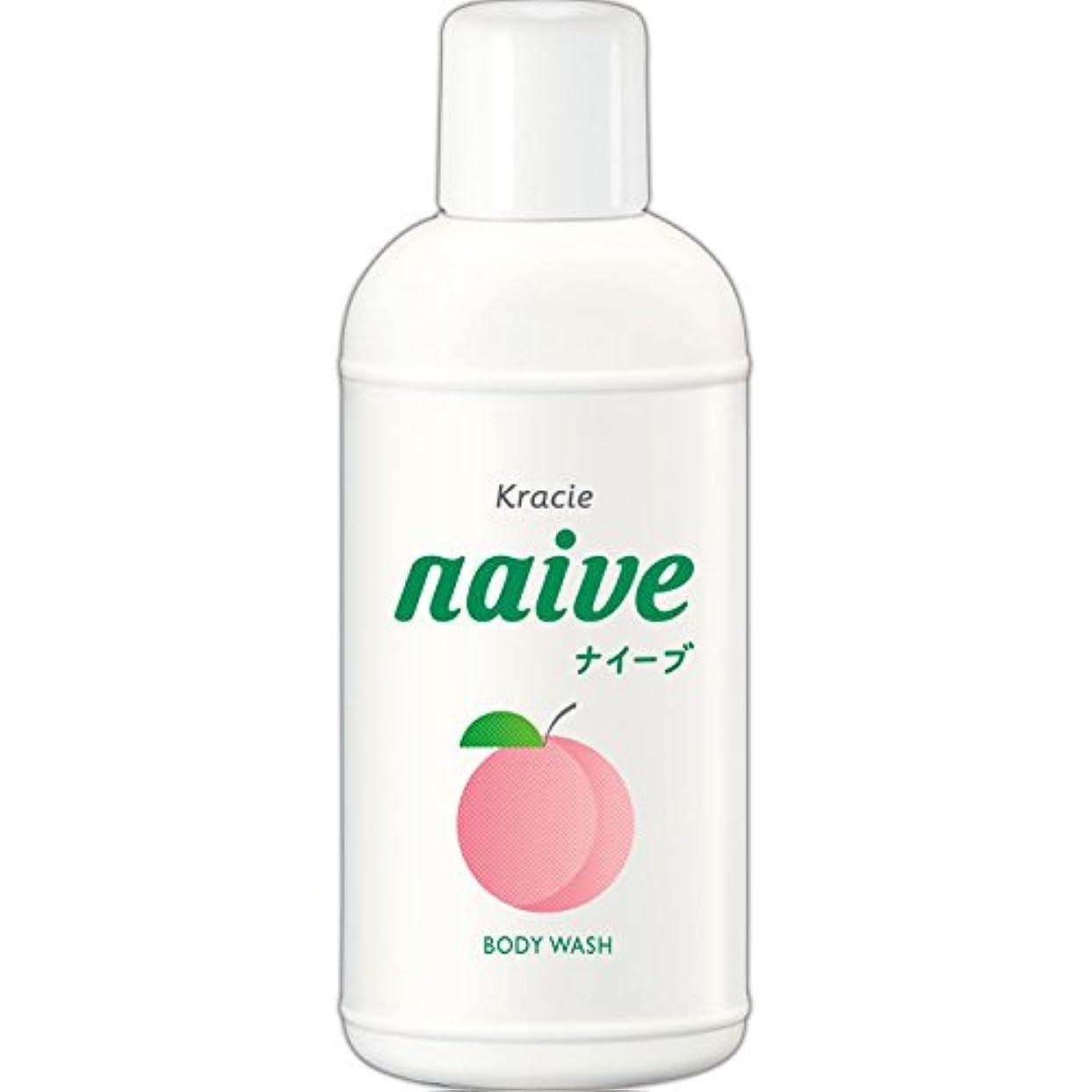 ジャベスウィルソン明らか説明的ナイーブ ボディソープ 桃の葉エキス配合 80ml