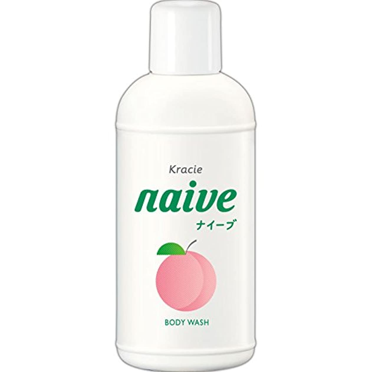 有効化メイントチの実の木ナイーブ ボディソープ 桃の葉エキス配合 80ml
