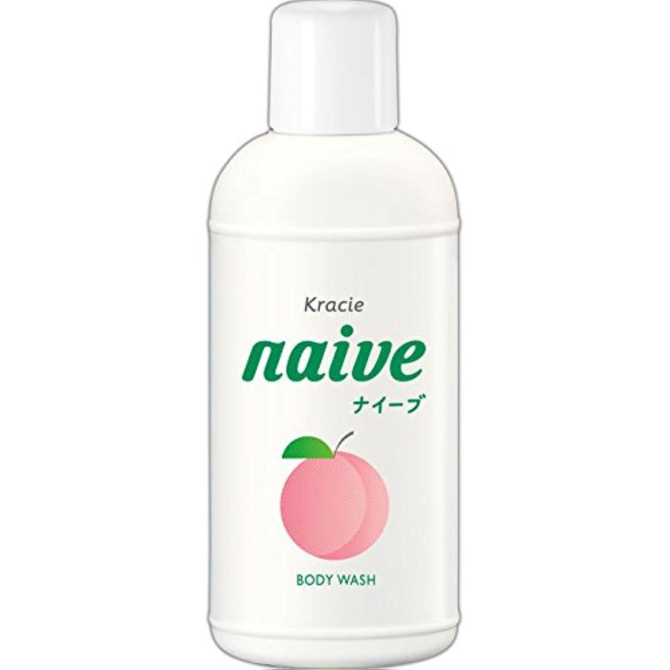 爪精神地上のナイーブ ボディソープ 桃の葉エキス配合 80ml