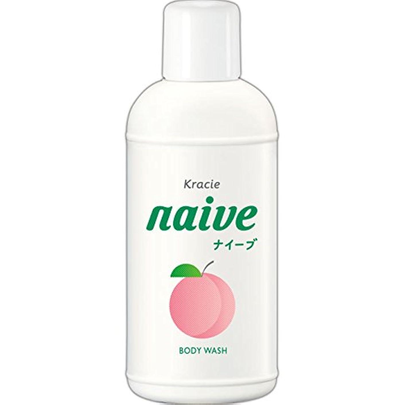 認識温室理想的にはナイーブ ボディソープ 桃の葉エキス配合 80ml
