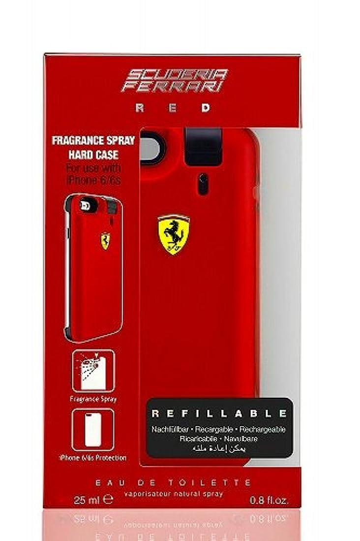 ◆【Ferrari】メンズ香水&iPhone6ケース◆フェラーリ レッド オードトワレ EDT 25mlX2◆