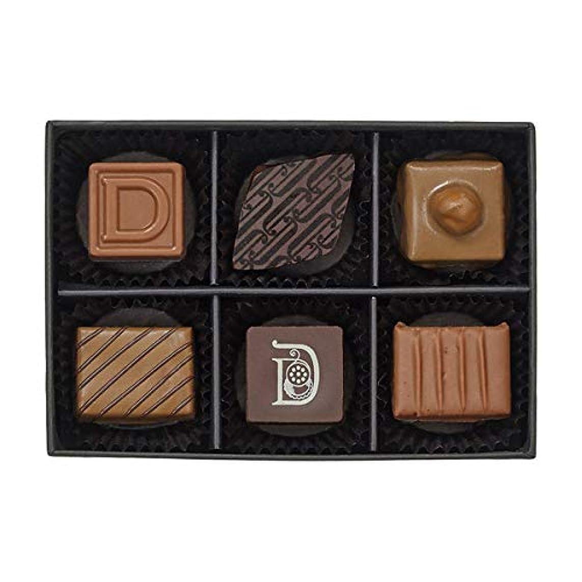 ナチュラ過敏な買うドゥバイヨル DEBAILLEUL セレクション ド プラリネ DBP-20 6粒入り チョコレート バレンタイン バレンタインデー ホワイトデー 贈答 ギフト