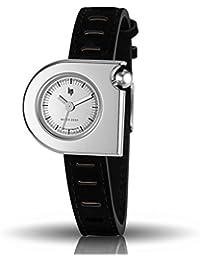 腕時計 Lip Women's 1892072 Mach-Mini Lady Moon Analog Display Swiss Quartz Black Watch [並行輸入品]