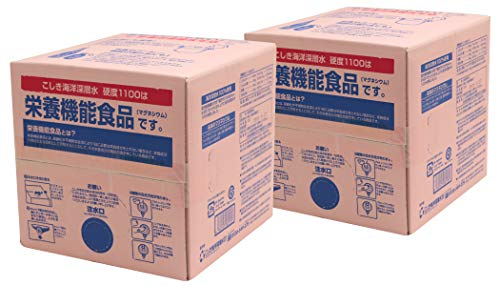 こしき竜宮伝説 硬度1100 10L×2箱 バッグインボックス BIB