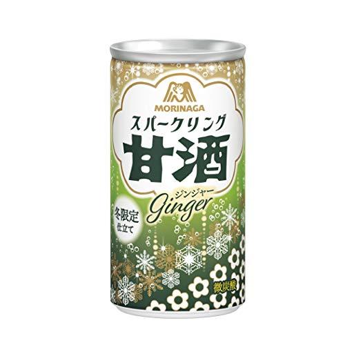 森永製菓 スパークリング甘酒 ジンジャー 190ml ×30本