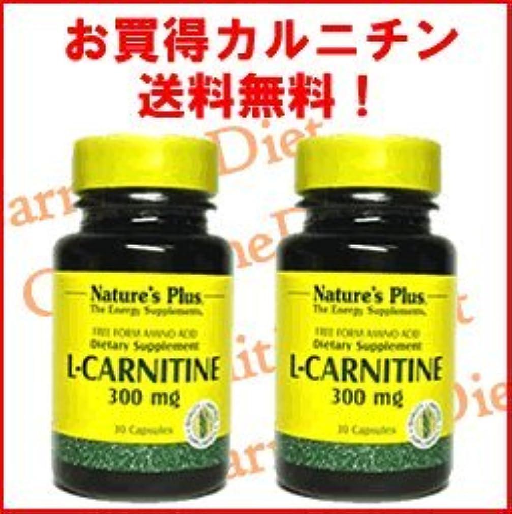 報酬利用可能全員L-カルニチン300mg 2本セット