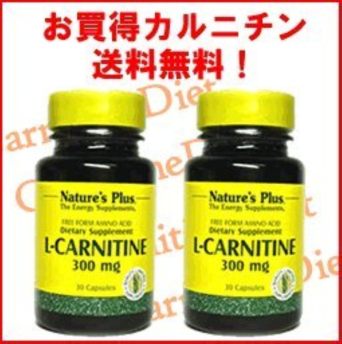 仲間、同僚経済的の量L-カルニチン300mg 2本セット
