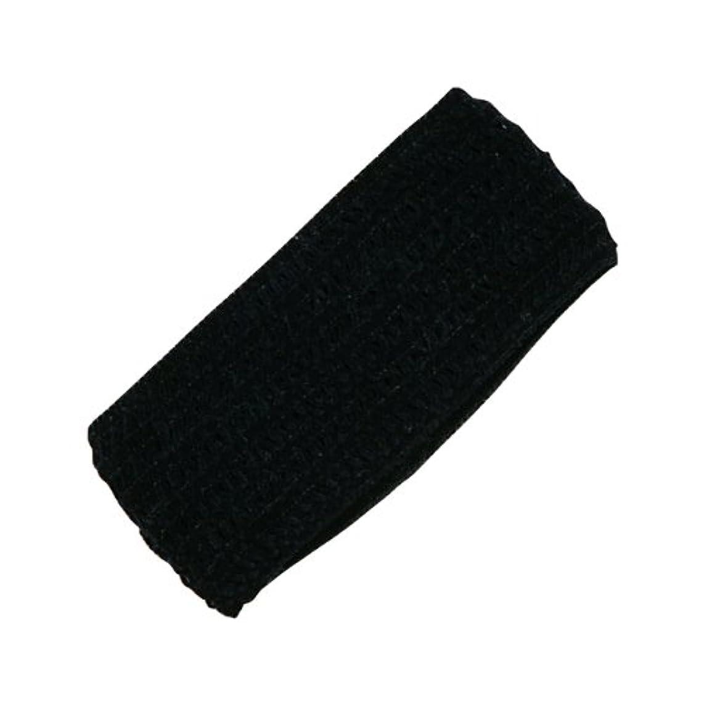近傍不測の事態固めるホテル業務用 幅広ヘアバンド(黒)バラ(袋なし)250個