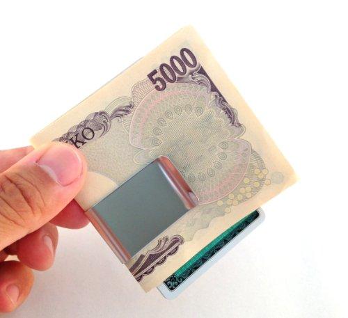 【 Simple Money Clip mc-050 】 クロス 付き [ Best Item ]