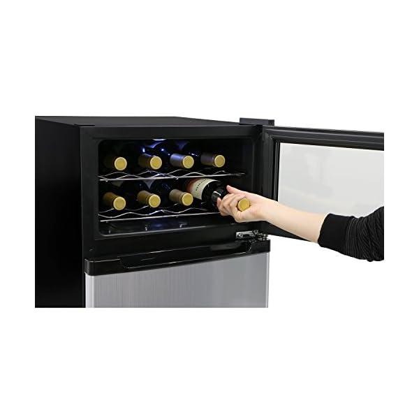 エスキュービズム 冷蔵庫一体型ワインクーラー ...の紹介画像3
