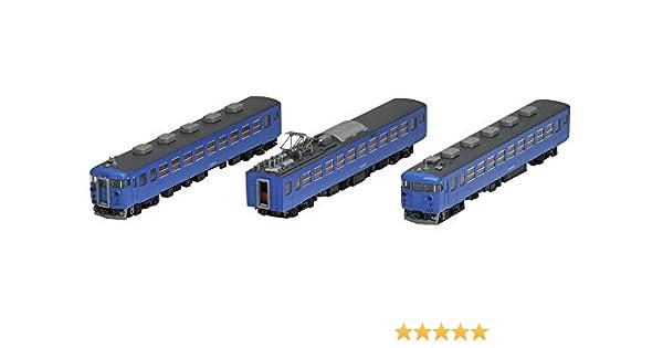457系電車 Nゲージ/ TOMIX 98938 JR 3両セット 【中古】 【A】 (金沢総合車両所・復活国鉄色・A13編成) 限定品
