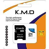 K.M.D MicroSDカード32gb Class10 メモリカード Microsd クラス10 SDHC マイクロSDカード Androidスマートフォン デジカメ 超高速転送 (32GB)