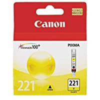 Canon cli221yインクカートリッジ 6 Pack