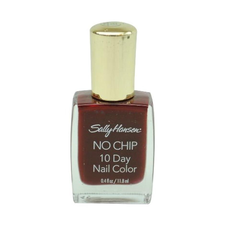 拒絶する防止ご注意SALLY HANSEN NO CHIP 10 DAY NAIL COLOR #4840-93 TENACIOUS RUBY