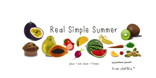 Real Simple Summer (English Edition)