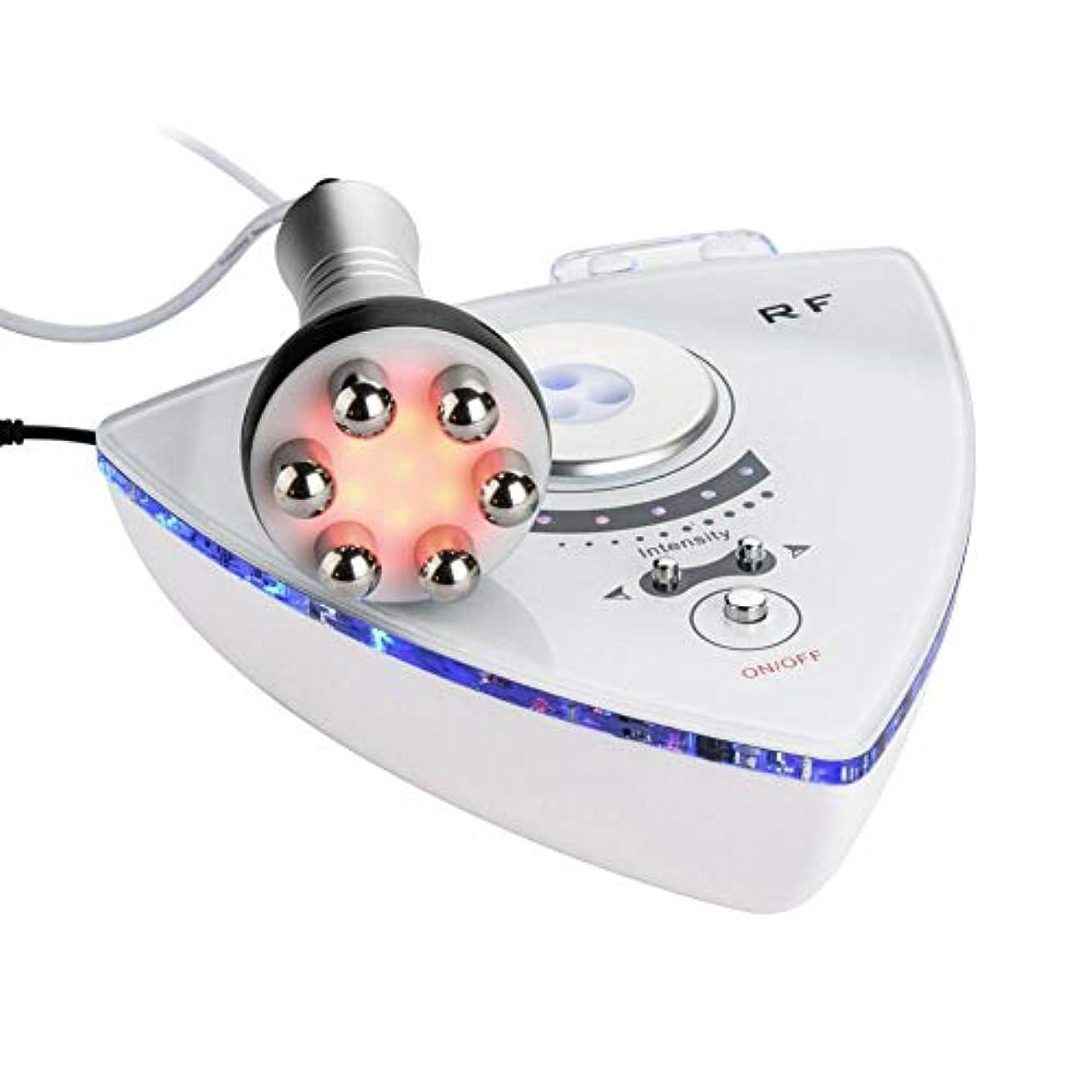 紫のデュアル見つけるRFの無線周波数の顔の美機械、しわの取り外しの皮の持ち上がる若返りの反老化のスキンケアのための手持ち型の電気美装置(私たち)