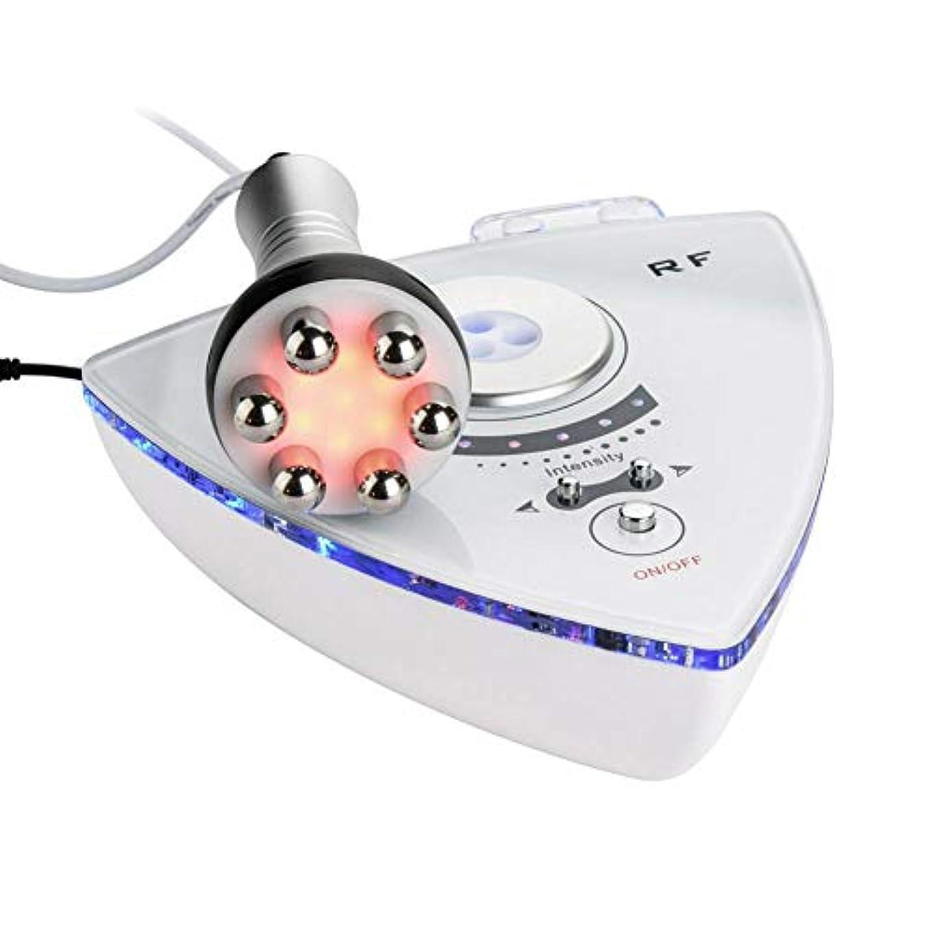 ネックレット不要手入れRFの無線周波数の顔の美機械、しわの取り外しの皮の持ち上がる若返りの反老化のスキンケアのための手持ち型の電気美装置(私たち)
