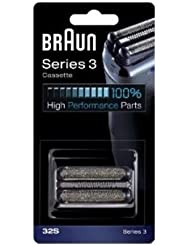 Braun 32S Shaver Head Replacement Foil & Cutter Cassette Series 3 (Silver) by Braun [並行輸入品]
