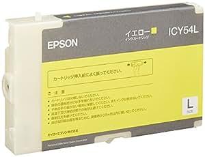 EPSON 純正インクカートリッジ L イエロー (PX-B500用) ICY54L