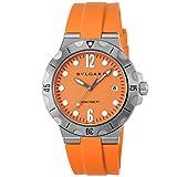 [ブルガリ] 腕時計 ディアゴノ DP41C8SVSD メンズ オレンジ [並行輸入品]