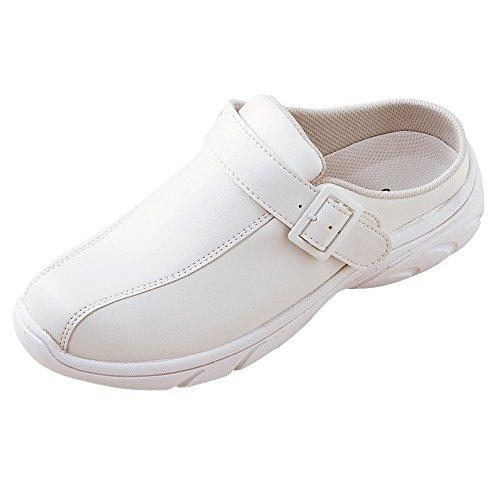 [해외]간호사 신발 사보 실내화 원래 전단지 된 화이트 [가볍게 분별 2Way 사양의 간호사 신발]/Nurse shoes Sabo slippon original with fliers White [Lightly easy to wear 2Way specification nurse shoes]