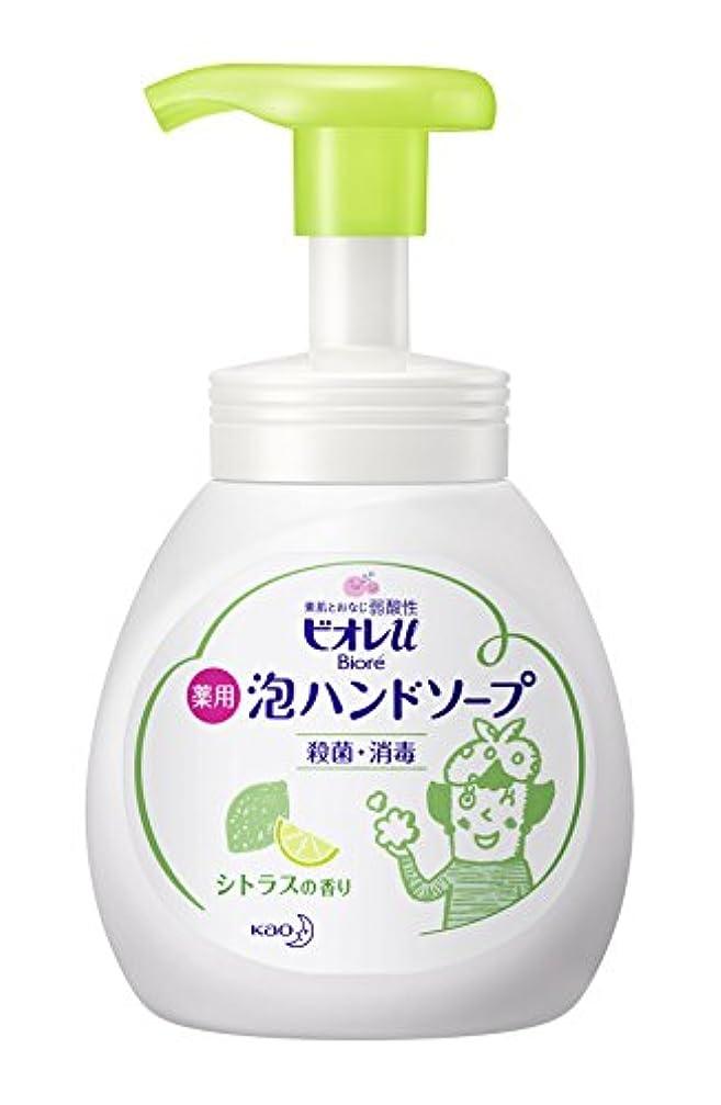 誤解魂豆腐ビオレu泡ハンドソープ シトラス ポンプ 250ml