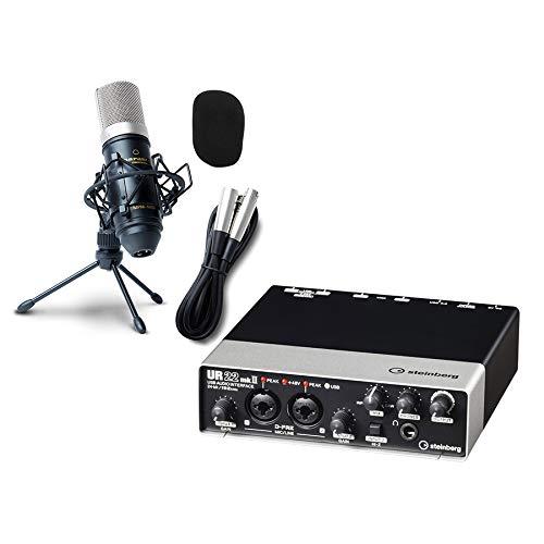 steinberg UR22mkII オーディオインターフェイス UR22Mk2 (高音質配信 録音セット)