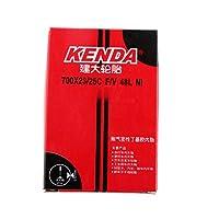 SONONIA 2本 お買い得 耐摩耗性 ケンダ 700X23/25C-48mm  仏式 バルブ ハイブリッド レーシング ロード バイク インナー チューブ