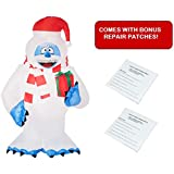 Gemmy 5 ft. Bumble The Abominable Snowman Christmas Inflatable with Bonus Repair Patch Kit