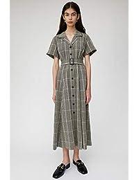 [マウジー] ワンピース ドレス WAIST ベルト SUCKER PLAID ドレス 010CAF30-5670