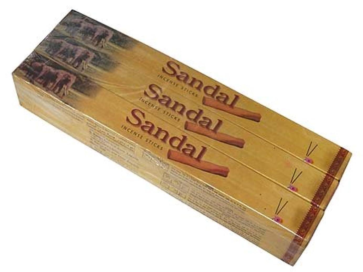 害挨拶する茎CYCLE(サイクル) サンダル香 スティック SANDAL 12箱セット