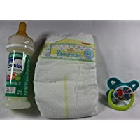 Reborn Baby Doll OOAK Fake Formula Milk Bottle Modified Girl Pacifier Pamper