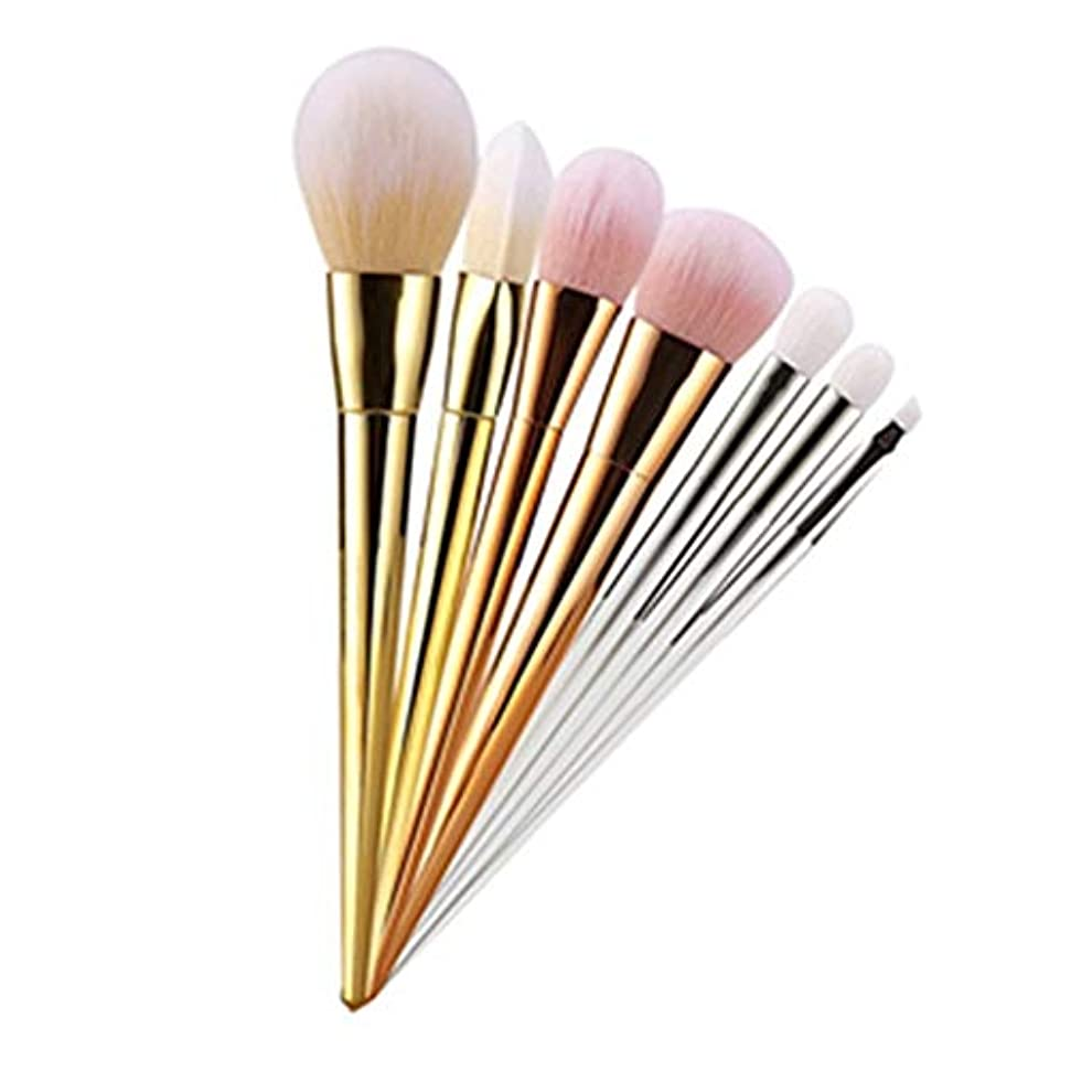 ドロー財政旅行美容メイク 7ピース 化粧ブラシセット メイクブラシ 化粧筆 シリーズ 化粧ブラシセット 高級タクロン 超柔らかい 可愛い
