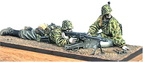アンドレアミニチュアズ S5-S3 Waffen SS MG42 Team