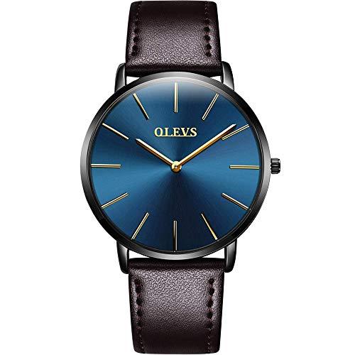 【2019最新型】腕時計 メンズ 極薄型 6.5MM シン...