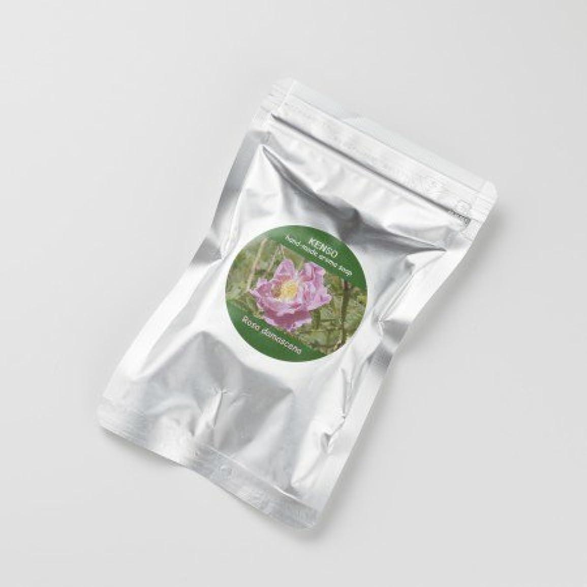 タンパク質絶対の愛国的なケンソー ローズ ソープ 50g (KENSO アロマグリセリンソープ)