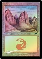 英語版フォイル オンスロート Onslaught ONS 山 Mountain (#343) マジック・ザ・ギャザリング mtg