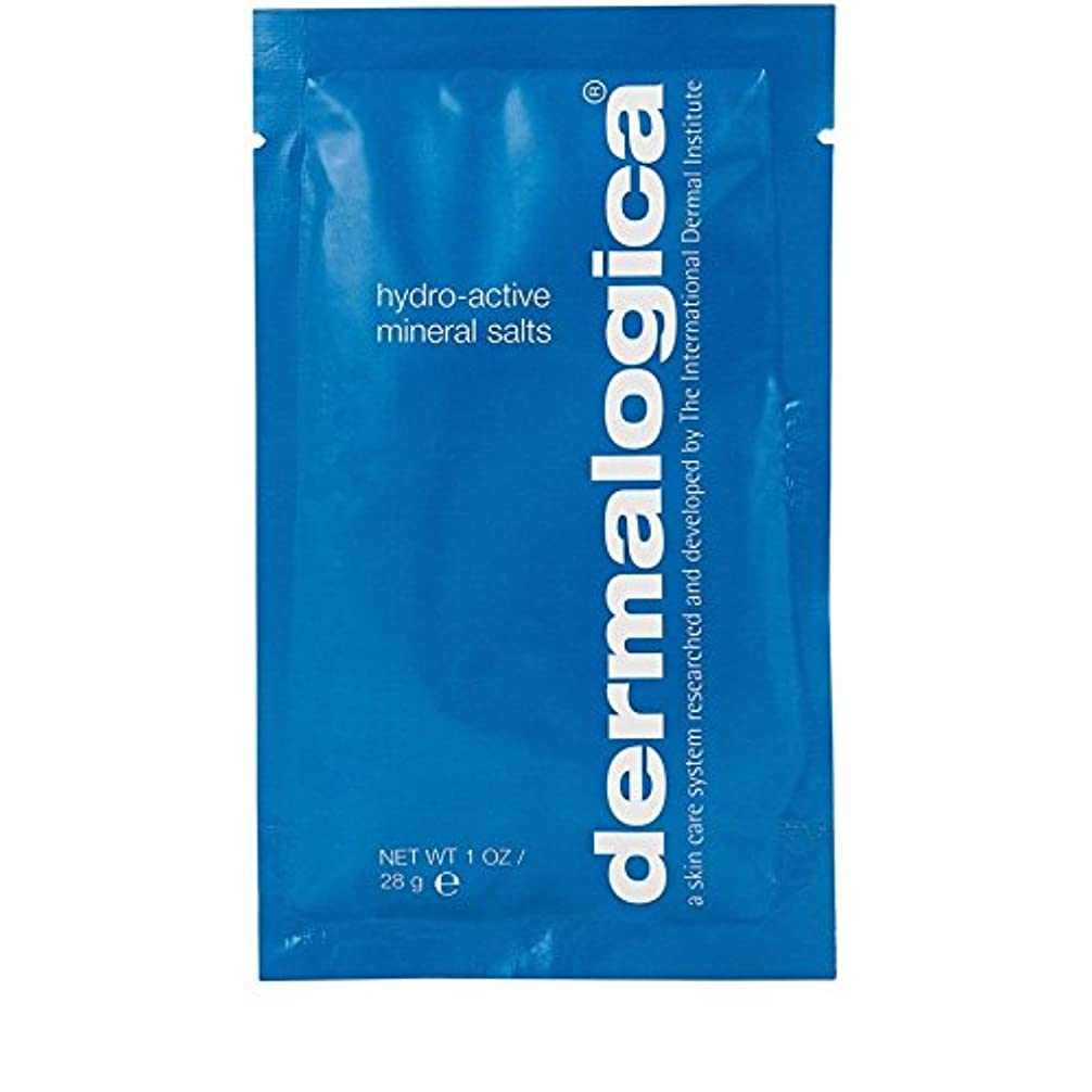 急勾配の一般的に言えばしっとりダーマロジカ水力アクティブミネラル塩28グラム x2 - Dermalogica Hydro Active Mineral Salt 28g (Pack of 2) [並行輸入品]