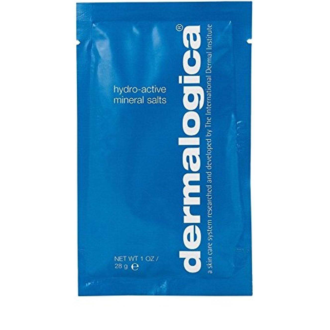 モルヒネメニューリズムDermalogica Hydro Active Mineral Salt 28g (Pack of 6) - ダーマロジカ水力アクティブミネラル塩28グラム x6 [並行輸入品]