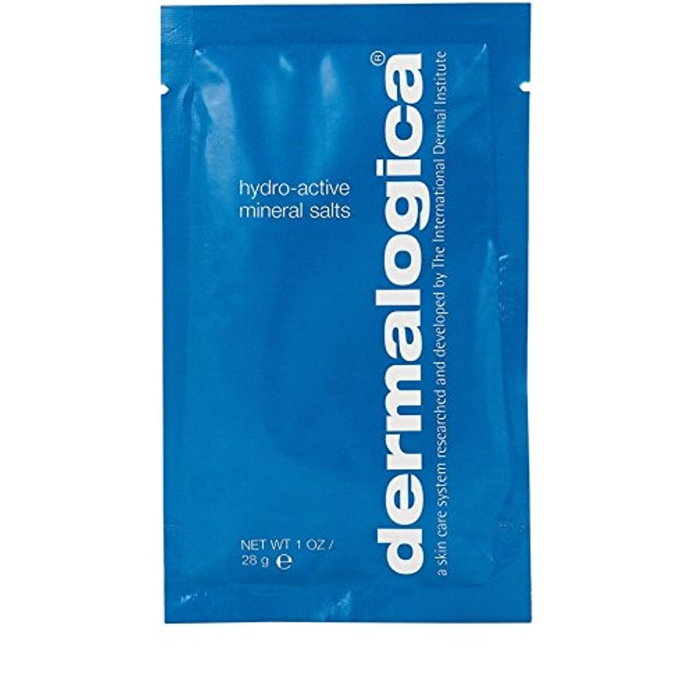 協力的悪名高いダーマロジカ水力アクティブミネラル塩28グラム x4 - Dermalogica Hydro Active Mineral Salt 28g (Pack of 4) [並行輸入品]