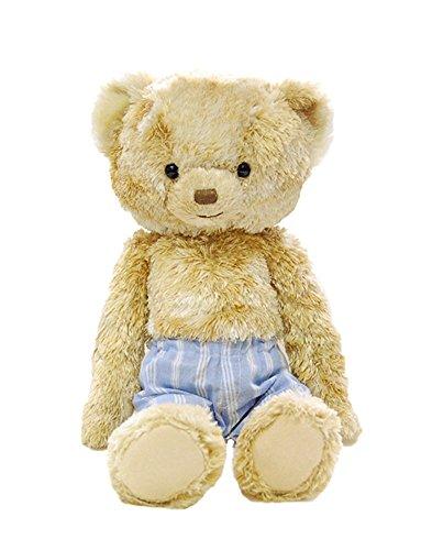 ぬいぐるみ くま テディドール 身長35cm かわいい ベア プティルウ社製 クリスマスプレゼント 彼女 こども 女の子 (ナッツ)