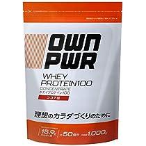 [Amazonブランド]OWN PWR ホエイプロテイン 100 ココア味 1000g