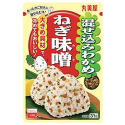 丸美屋 混ぜ込みわかめ ねぎ味噌 31g×10袋入×(2ケース)