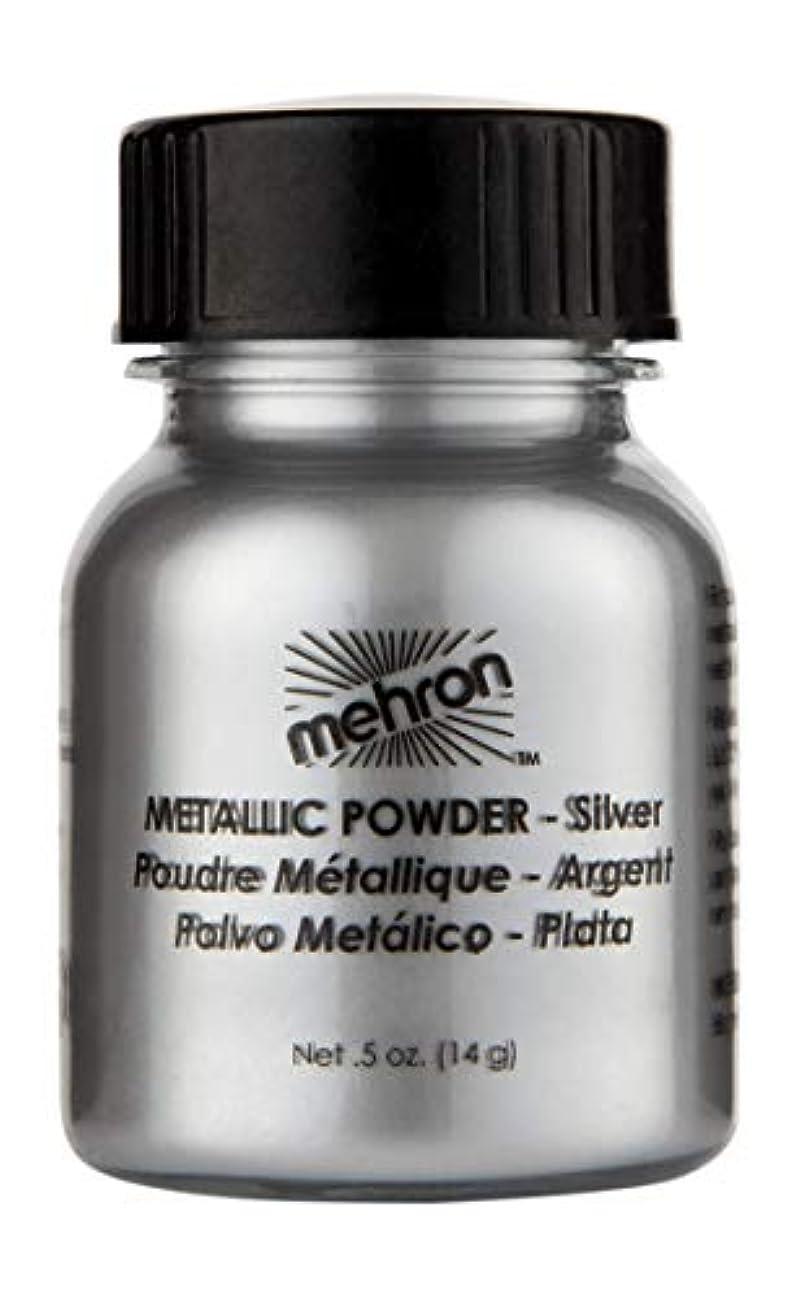 メタルライン起きる耐えられるmehron Metallic Powder Silver (並行輸入品)