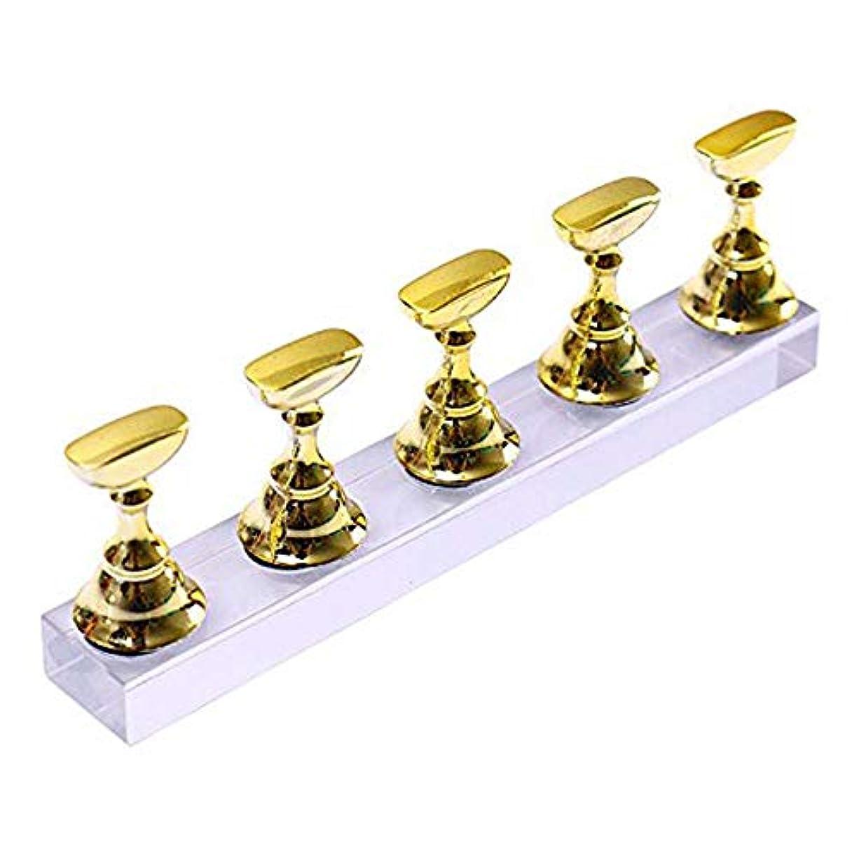 魅惑的な安西ネクタイネイルチップディスプレイスタンドセット 磁気 ネイルアート道具 サンプルチップ ネイルアート用品