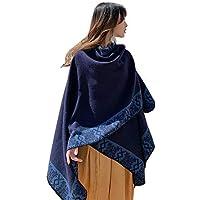 TIMWILL Fashion Women Oversize Cashmere-like Pashmina Wrap Shawl Warm Winter Thicker Travel Blanket Scarf