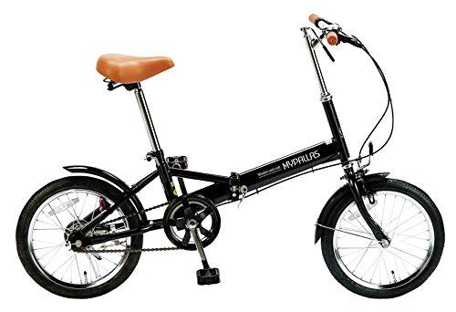 My Pallas(マイパラス) 折りたたみ自転車 M-101-BK 16インチ ブラック