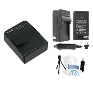 Keep shooting all day (and longer) with the UltraPro Battery & Charger Kit. With an extended-life high-capacity battery, a compact AC/DC travel charger, and additional handy accessories, you'll have everything you need to get the most out of your...