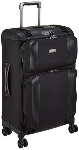 [アントラー] TITUS ソフトスーツケース タイタス 57L 無料受託 軽量 中型 10年保証 双輪キャスター 保証付 57.0L 68cm 2.5kg ATIS-63 ブラック ブラック